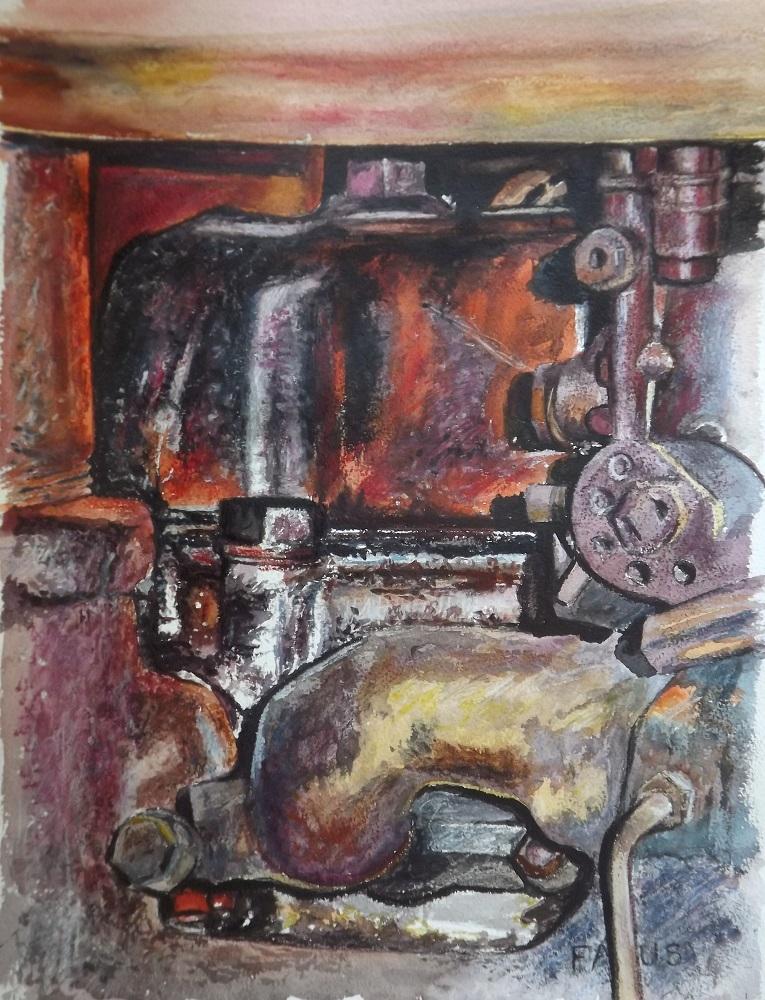 Bloc moteur gastronomique