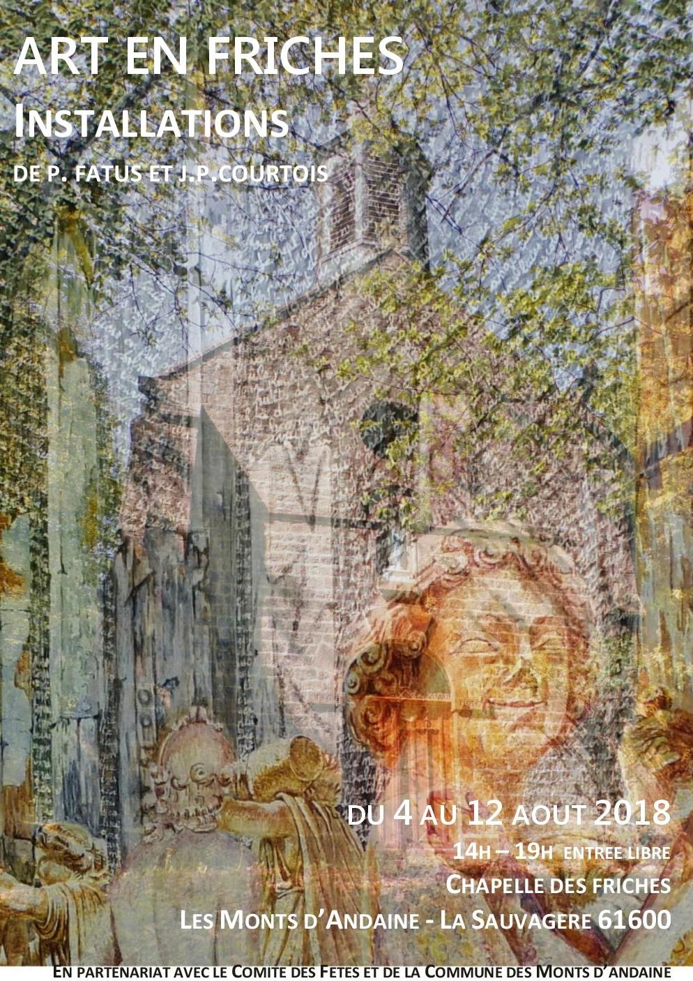 Art en Friches du 4 au 12 août 2018