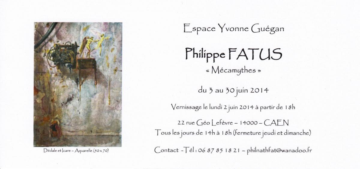 Carton expo caen juin 2014
